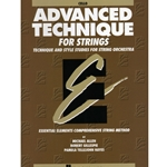 Advanced Technique For Strings Cello (Essential Elements Bk 4)