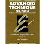 Advanced Technique For Strings Violin (Essential Elements Bk 4